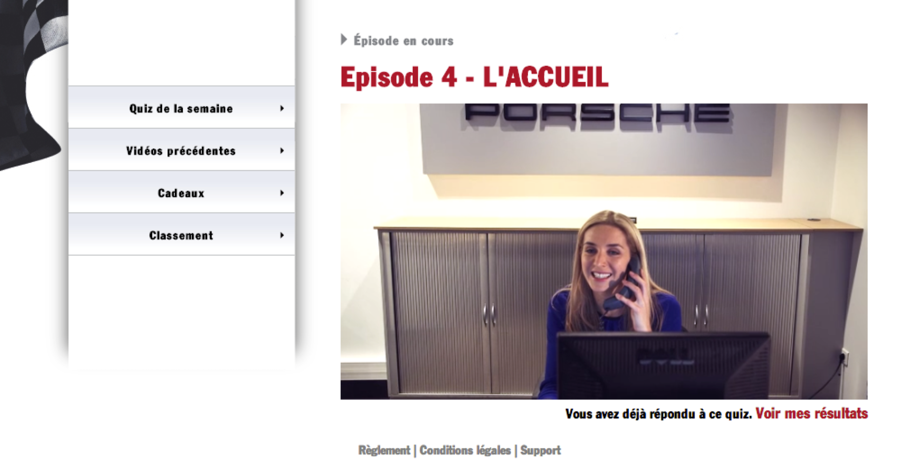 PORSCHE E-LEARNING - Projet Agence Wondercorp